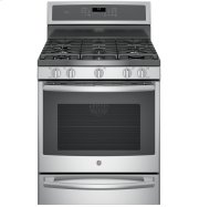 "GE Profile™ Series 30"" Free-Standing Gas Convection Range with Warming Drawer Product Image"