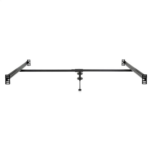 Bolt-on Bed Rails with Center Bar - Queen