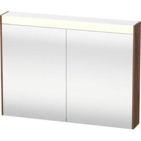 Mirror Cabinet, Natural Walnut (decor)