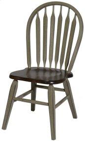 St. Helen Arrow Back Side Chair W/ Tapered Leg