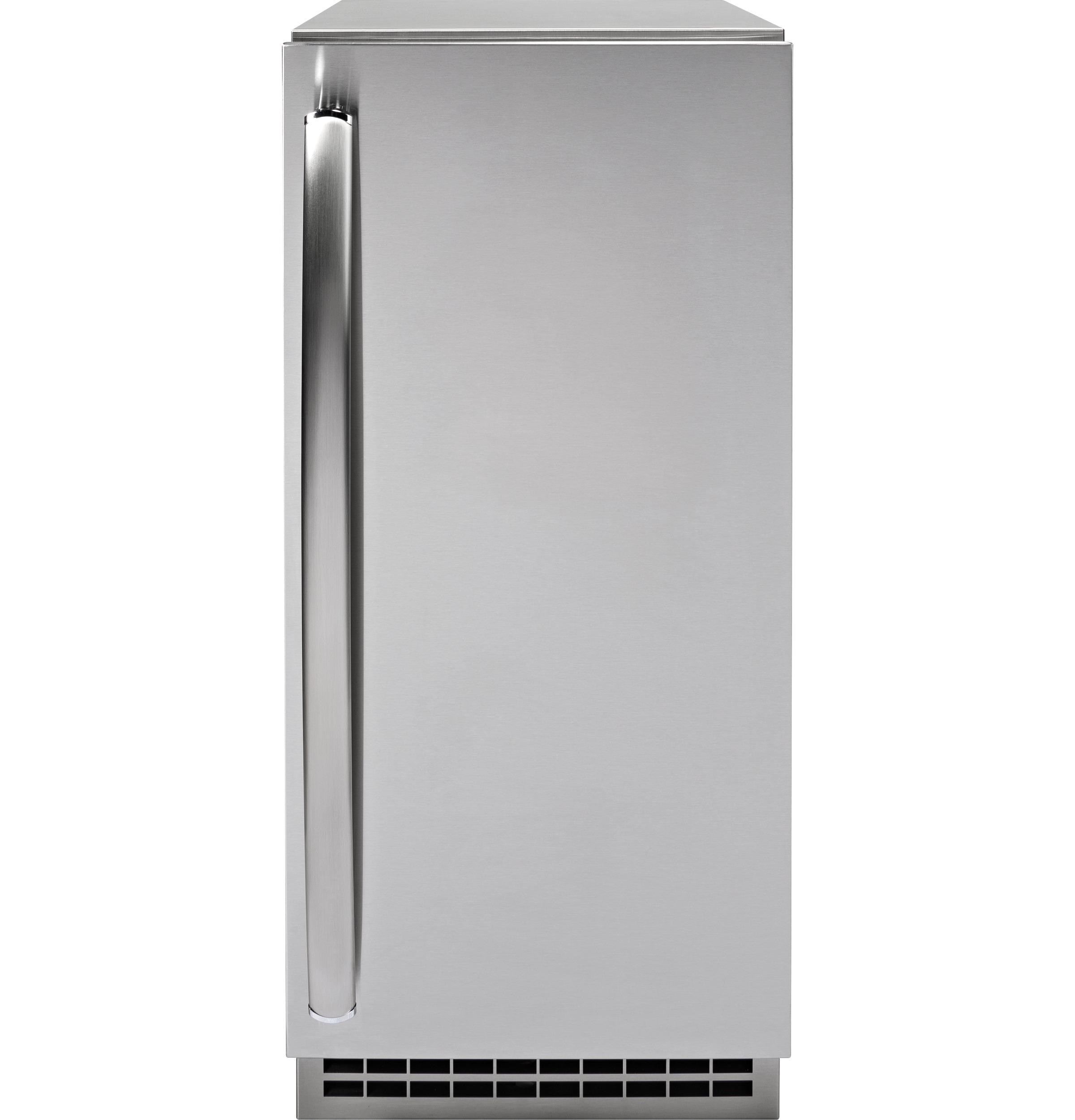 GE Profile Series Stainless Steel Ice Maker Door Kit (door panel and handle only)