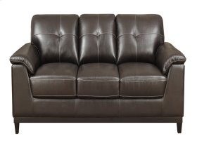 Sofa Walnut Brown Pu