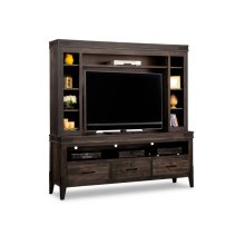 Chattanooga HDTV Unit with Hutch with 54'' TV Opening