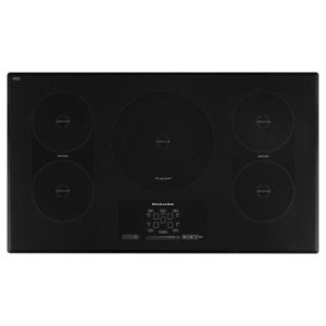 KITCHENAID36-Inch 5-Element Induction Cooktop, Architect(R) Series II - Black