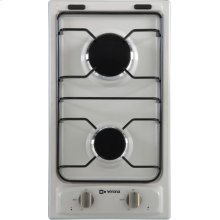 "Antique White (Bisque) 12"" Gas Cooktop"