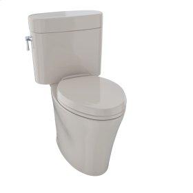 Eco Nexus® Two-Piece Toilet, 1.28 GPF, Elongated Bowl - Bone