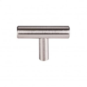 Hopewell T-Handle 2 Inch - Brushed Satin Nickel