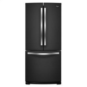 30-inch Wide French Door Refrigerator - 19.7 cu. ft. - BLACK ICE