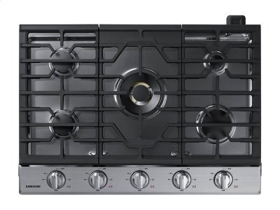 "30"" Gas Cooktop with 22K BTU True Dual Power Burner (2016) Product Image"