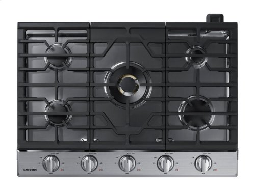 "30"" Gas Cooktop with 22K BTU True Dual Power Burner"