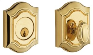 Lifetime Polished Brass Bethpage Deadbolt Product Image
