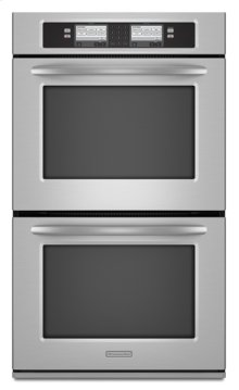 Stainless Steel KitchenAid® 30-Inch Steam-Assist Double Oven, Architect® Series II