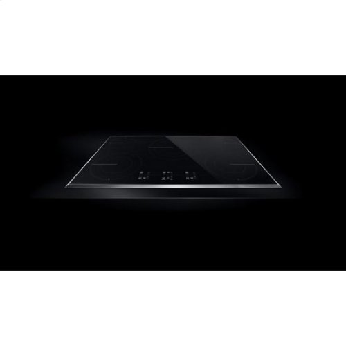 """Lustre Stainless 36"""" Electric Cooktop with Glass-Touch Electronic Controls"""