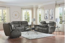 Power Glider Loveseat W/ Console