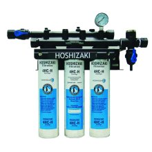 Triple Water Filter System with Manifold & Cartridge