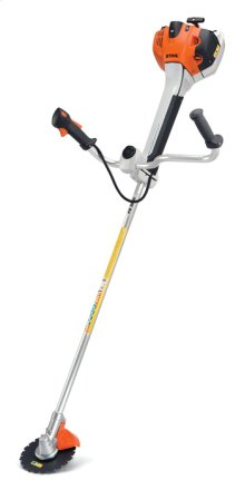 Versatile, rugged brushcutter for all-around professional applications.