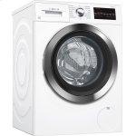 Bosch800 Series Washer - 208/240V, Cap. 2.2 cu.ft., 15 Cyc.,1,400 RPM, 49 dBA Chr./Door, AquaStop®, ENERGY STAR
