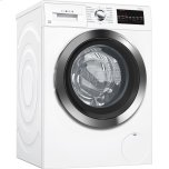 Bosch800 Series Washer - 208/240V, Cap. 2.2 cu.ft., 15 Cyc.,1,400 RPM, 49 dBA Chr./Door, AquaStop(R), ENERGY STAR