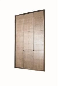 Milan Bronze Finished Brass Mirror Product Image