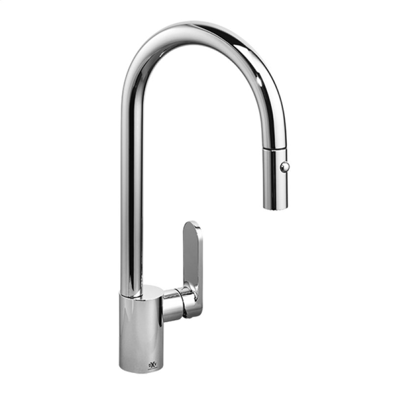 Isle Pull Down Kitchen Faucet Polished Chrome
