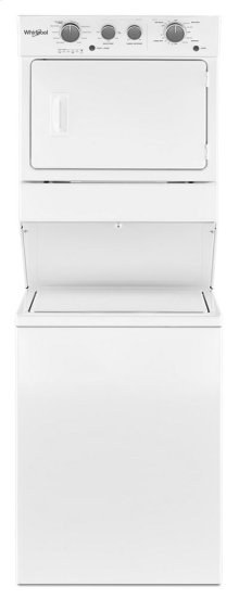 3.5 cu.ft Electric Stacked Laundry Center 9 Wash cycles and AutoDry