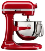 6 Quart Bowl-Lift Stand Mixer - Empire Red Product Image