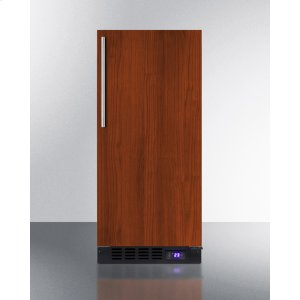 """Summit15"""" Wide Frost-free Freezer for Built-in or Freestanding Use, With Integrated Door Frame To Accept Overlay Panels; Replaces Scff1537bif"""