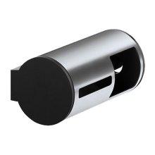 Multiple toilet roll dispenser - chrome-plated