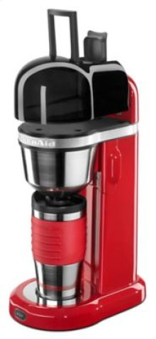 Personal Coffee Maker with 18 oz Thermal Mug - Empire Red