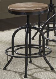 24 Inch Adjustable Barstool Product Image