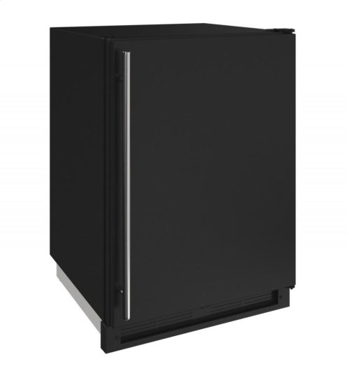 """1000 Series 24"""" Convertible Freezer With Black Solid Finish and Field Reversible Door Swing"""