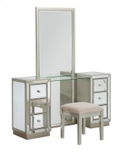 Vanity Mirror and Stool Product Image