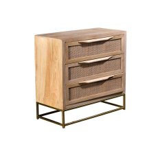 Bengal Manor Natural Cane Chest