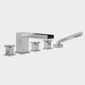 3300 Series Roman Tub Set with Mixx Handle (available as trim only P/N: 1.333293T)