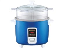 5 Cup (uncooked) Automatic Rice Cooker and Vegetable Steamer - Blue - SR-W10FGEA
