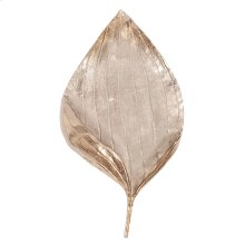 Champagne Leaf Wall Decor, Large