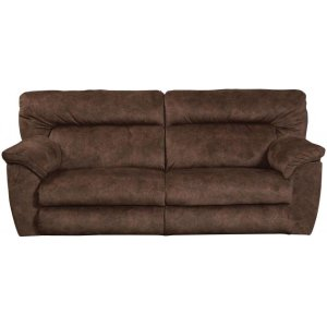 Lay Flat Reclining Console Loveseat w/Strg & Cupholders
