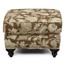 Stacy Ottoman with Nails 5737N