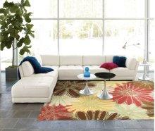 Home & Garden Rs022 Gre Rectangle Rug 7'9'' X 10'10''