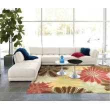 Home & Garden Rs022 Gre Rectangle Rug 7'9'' X 10'10''