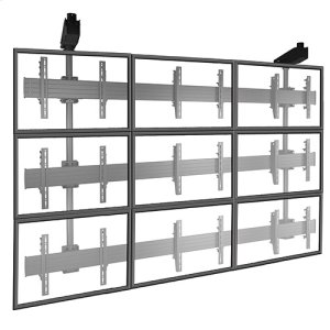 Chief ManufacturingFUSION Micro-Adjustable Large Ceiling Mounted 3 x 3 Video Wall Solutions