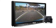 """Flagship In-Dash Navigation AV Receiver with 7"""" WVGA Capacitive Touchscreen Display and included ND-BC8 Back-Up Camera"""