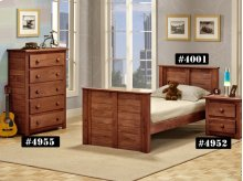 """Twin Square 3"""" Post Bed"""