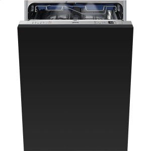 "SmegFully integrated 24"" Dishwasher 86 CM Height"