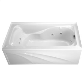 Cadet 60 x 32 Inch EverClean Whirlpool Tub  Right Drain  American Standard - White