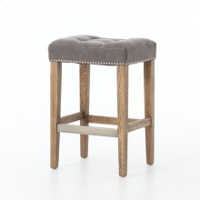 Counter Stool Size Dark Moon Cover Aspen Grey Finish Sean Bar + Counter Stool