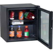 1.9 CF Beverage Cooler - Black w/Glass Door