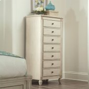 Huntleigh - Lingerie Chest - Vintage White Finish Product Image