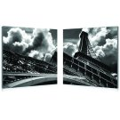 Baxton Studio Touch the Clouds Mounted Photography Print Diptych Product Image
