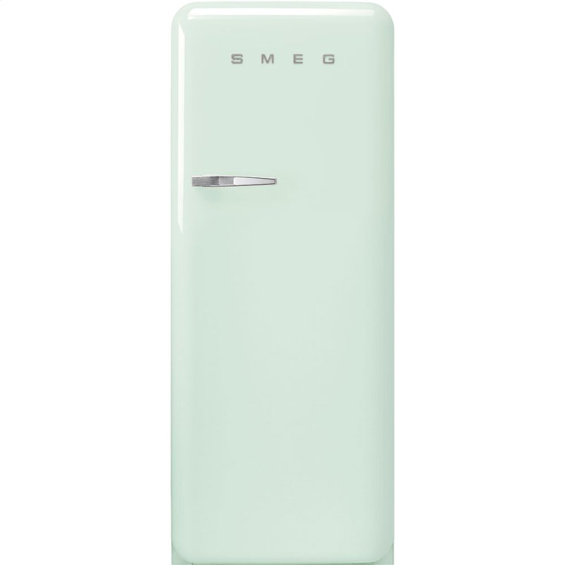 "24"" retro-style fridge, Pastel green, Right-hand hinge"